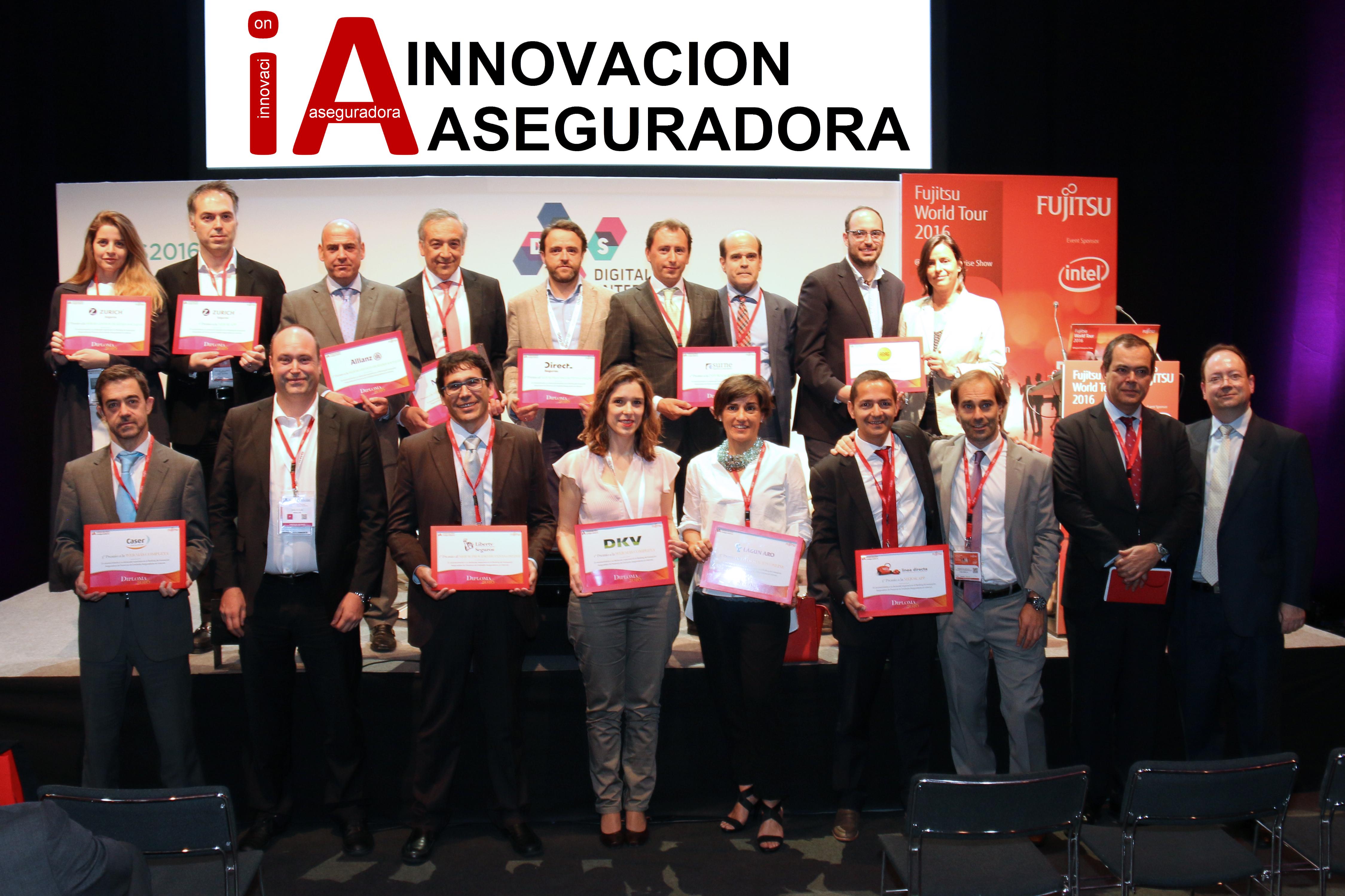 Premios del Ranking de Innovación Aseguradora, junio 2016